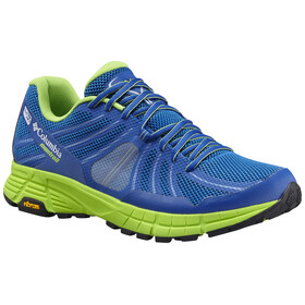 Columbia Mojave Trail Outdry - Zapatillas running Hombre - verde/azul